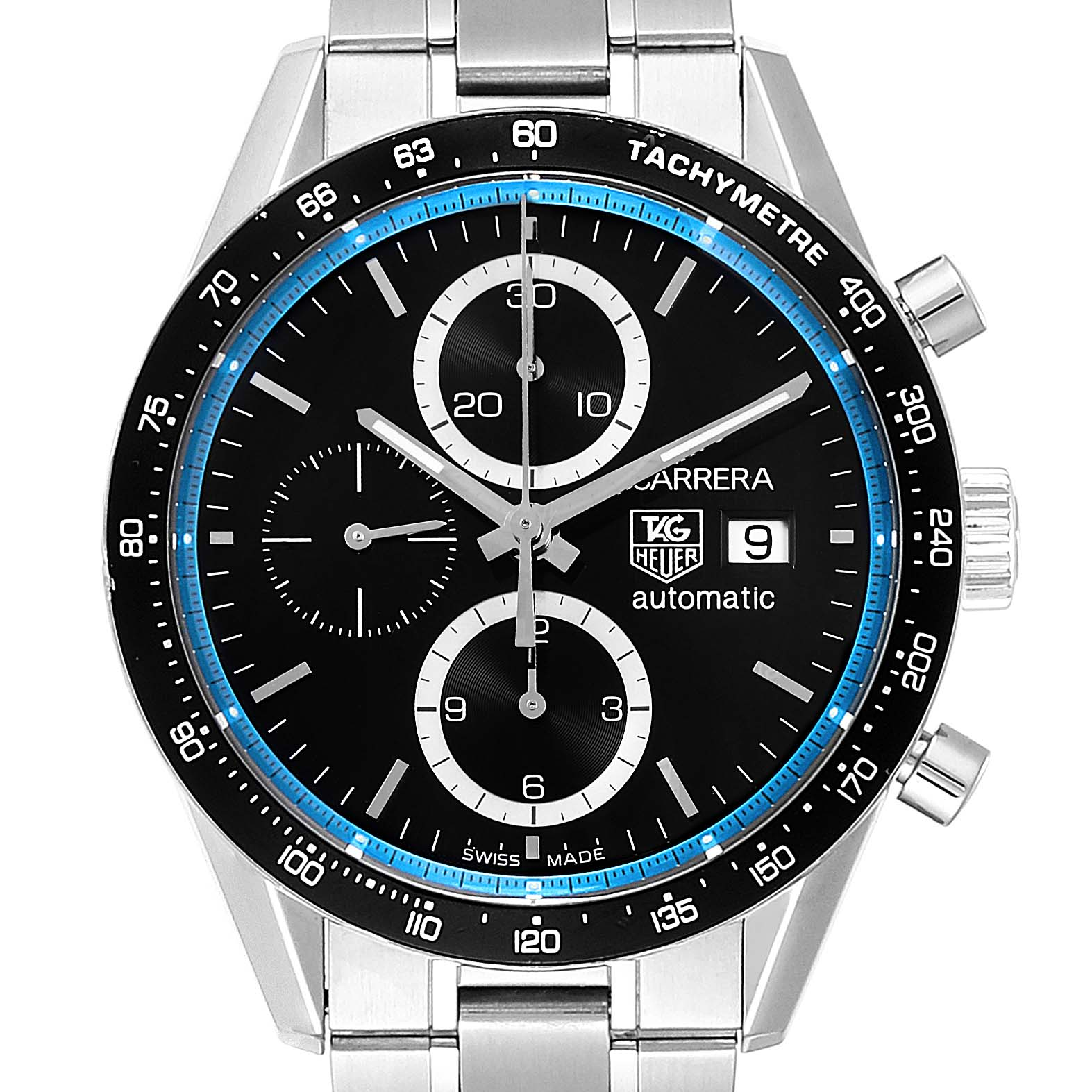 Photo of Tag Heuer Carrera Ring Master Jenson Button Limited Edition Watch CV201X