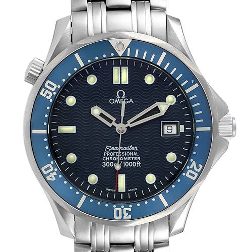 Photo of NOT FOR SALE Omega Seamaster 300M Blue Dial Steel Mens Watch 2531.80.00 Box Card PARTIAL PAYMENT