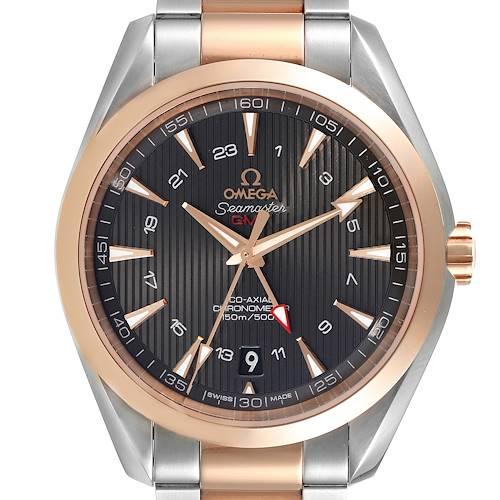 Photo of Omega Seamaster Aqua Terra GMT Co-Axial Watch 231.20.43.22.06.003 Box Card