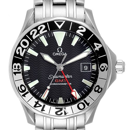 Photo of Omega Seamaster GMT 50th Anniversary Steel Mens Watch 2534.50.00