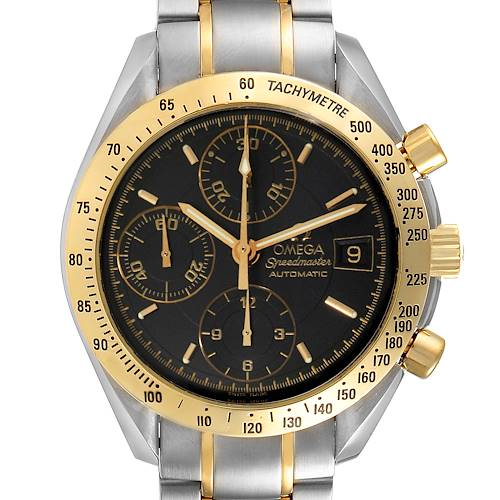 Photo of Omega Speedmaster Steel Yellow Gold Automatic Mens Watch 3313.50.00