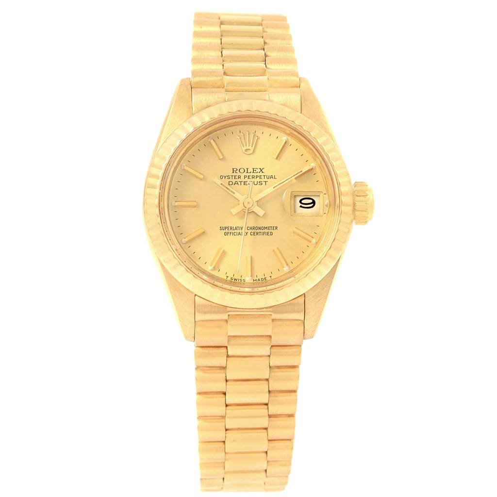Rolex Oyster Perpetual Datejust 18k