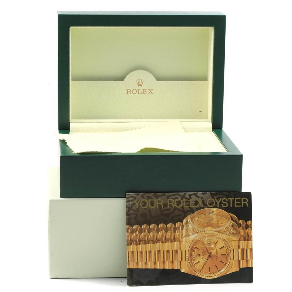 Rolex President Datejust 26 Yellow Gold MOP Dial Ladies Watch 179178 Unworn SwissWatchExpo