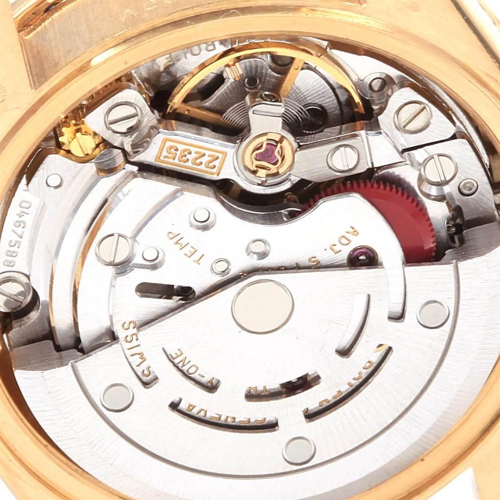 20861 Rolex President Datejust Yellow Gold Diamond Ladies Watch 79138 Box SwissWatchExpo