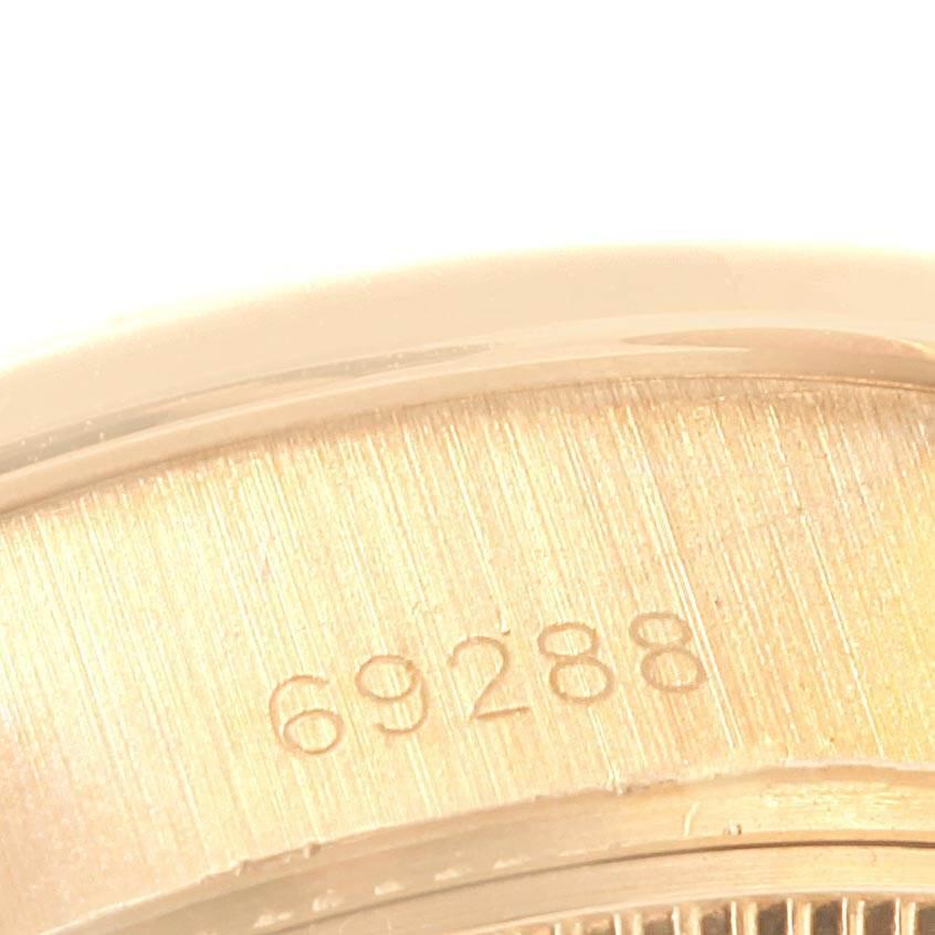 23220 Rolex President Datejust 26mm Yellow Gold Diamond Ladies Watch 69288 SwissWatchExpo