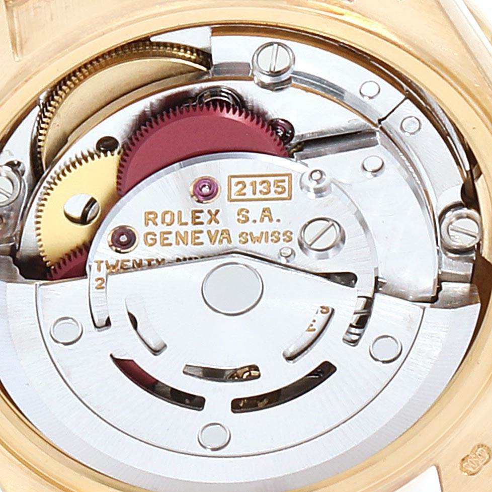 23215 Rolex President 26mm Yellow Gold Diamond Ladies Watch 69138 Box Papers SwissWatchExpo