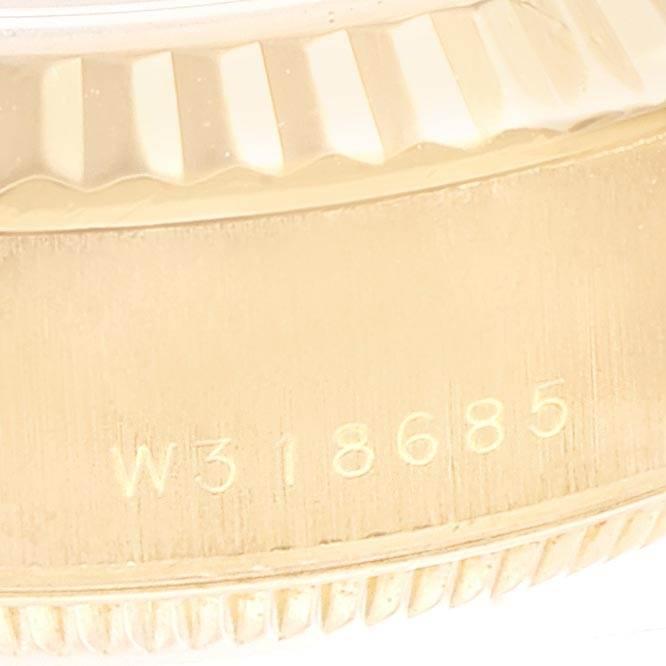 23705 Rolex President Datejust Yellow Gold Diamond Ladies Watch 69178 Box Papers SwissWatchExpo
