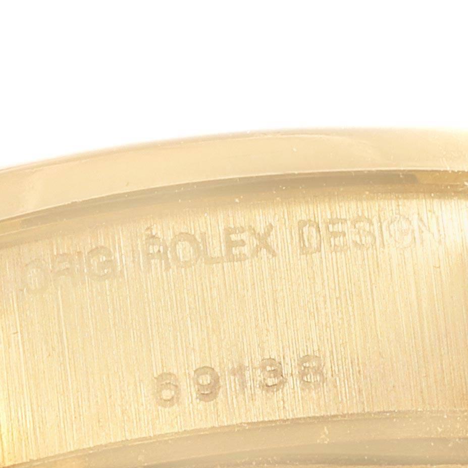 25060 Rolex President Datejust 26mm Yellow Gold Diamond Ladies Watch 69138 SwissWatchExpo
