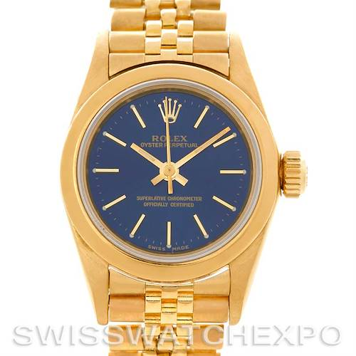 Photo of Rolex President Non-Date 18K Gold Dial Watch 67188