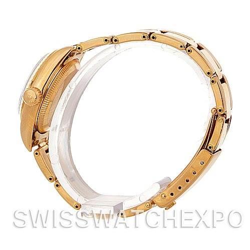 4742 Rolex Ladies18k Yellow Gold President 67198 Watch SwissWatchExpo