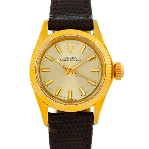 Photo of Rolex President Non-Date 14K Yellow Gold Watch 6719