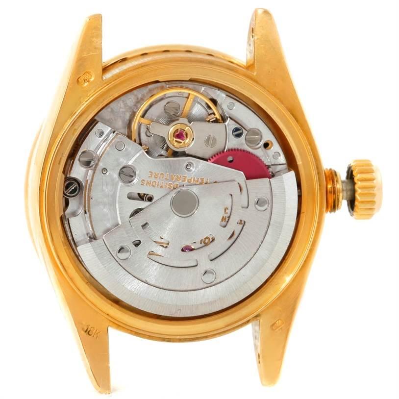 7373EX Rolex President Ladies 18k Yellow Gold Diamonds Watch 69138  SwissWatchExpo