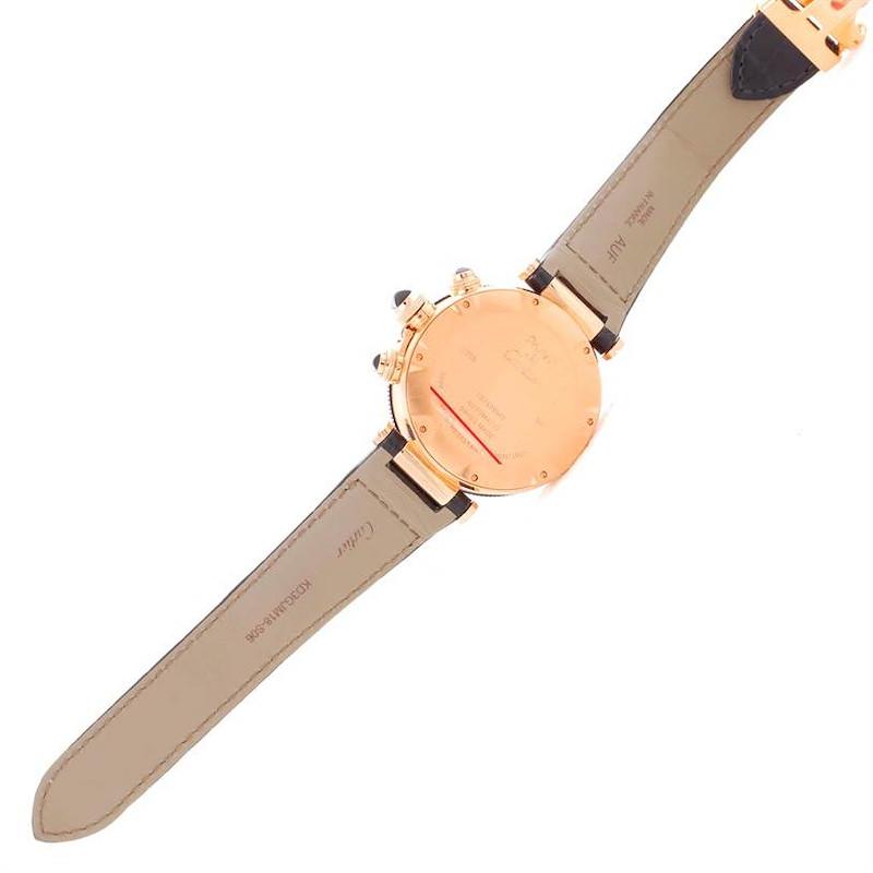 Cartier Pasha 18kt Rose Gold Chronograph Mens Watch W3030018 SwissWatchExpo