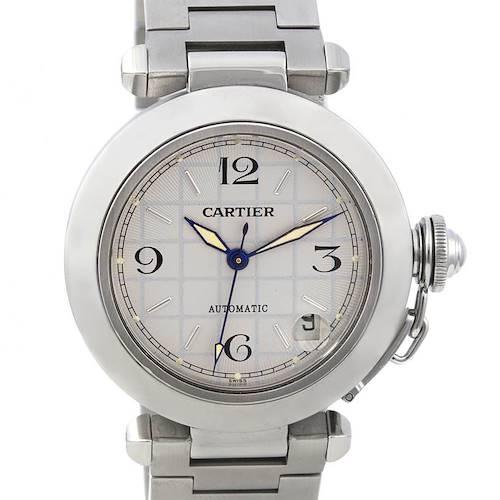 Photo of Cartier Pasha C Men's Steel Watch W31023M7