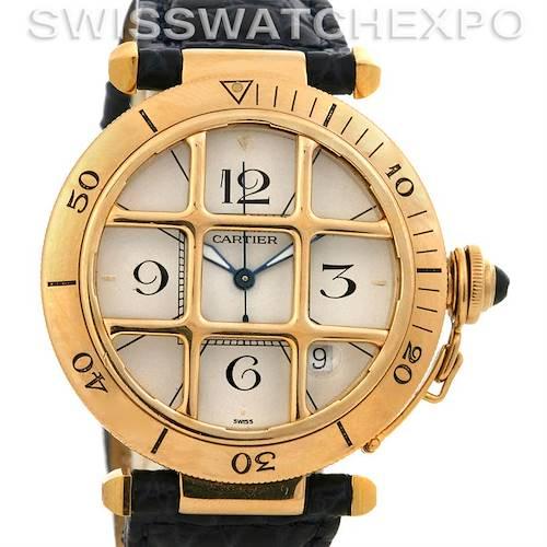 Photo of Cartier Pasha C Grid 18k Yellow Gold 38mm Watch