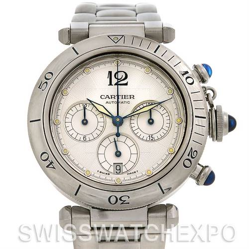 Photo of Cartier Pasha Chronograph Automatic Watch W31030H3