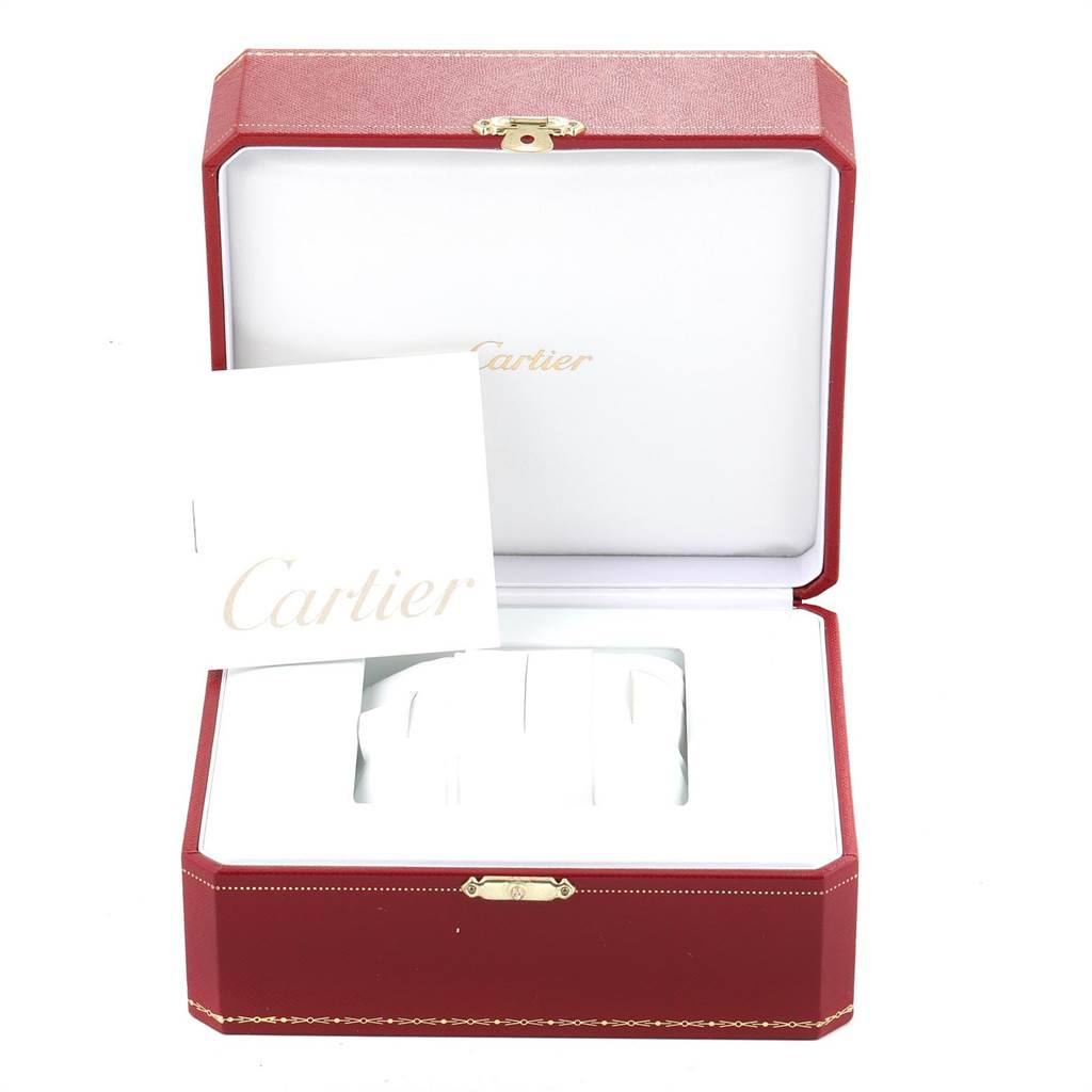 14714 Cartier Pasha Power Reserve GMT Automatic Mens Watch W31037H3 SwissWatchExpo