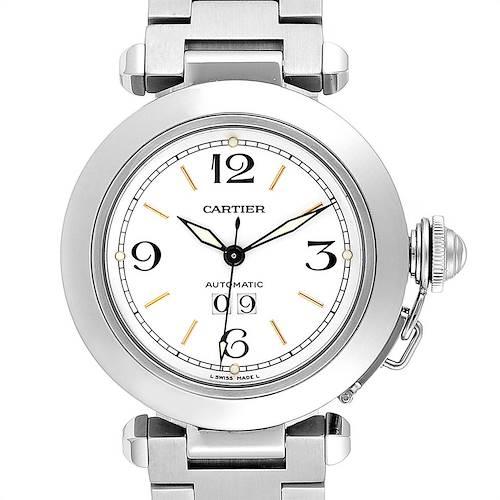 Photo of Cartier Pasha C Midsize Big Date Automatic Steel Unisex Watch W31044M7