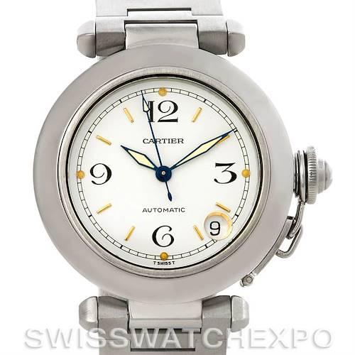 Photo of Cartier Pasha C Midsize Steel Watch W31043M7