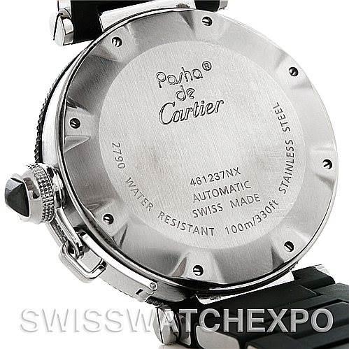 5040 Cartier Pasha Seatimer Chronograph Mens Watch W31077U2 SwissWatchExpo