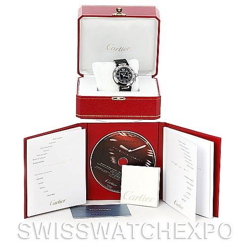 5094 Cartier Pasha Seatimer Chronograph Mens Watch W31077U2 SwissWatchExpo