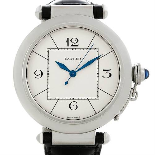 Photo of Cartier Pasha Automatic Mens Watch W3107255