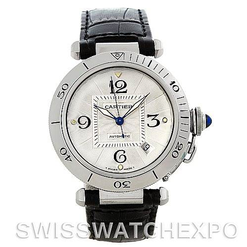 5262 Cartier Pasha Seatimer 38mm Mens Watch SwissWatchExpo