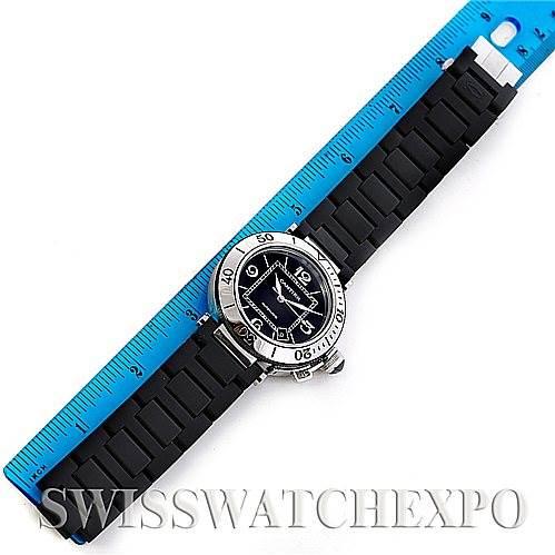 5890 Cartier Pasha Seatimer Mens Watch W31077U2 SwissWatchExpo