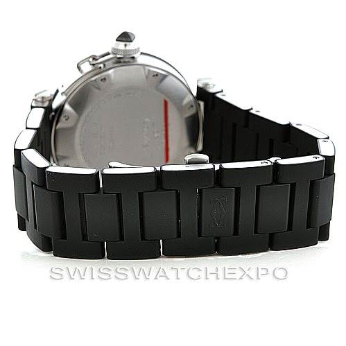 Cartier Pasha Seatimer Mens Watch W31077U2 SwissWatchExpo