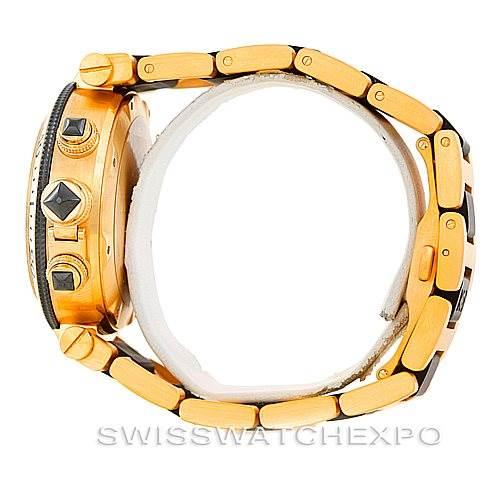 6873 Cartier Pasha Seatimer 18K Yellow Gold Mens Watch W301970M SwissWatchExpo