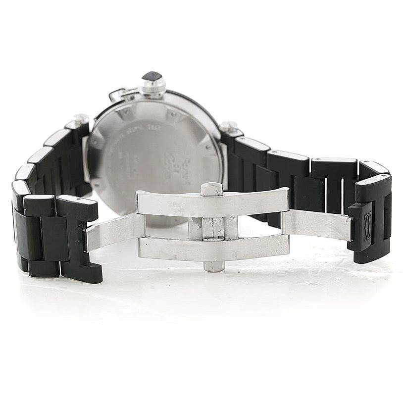 6117 Cartier Pasha Seatimer Mens Watch W31077U2 SwissWatchExpo