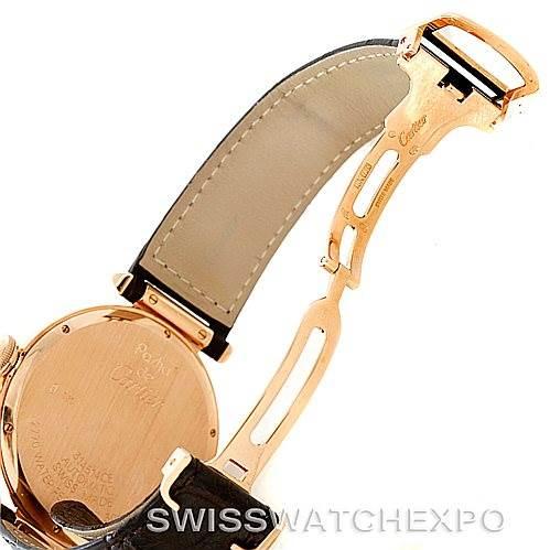 7828 Cartier Pasha 18K Rose Gold Mens Watch W3019051 SwissWatchExpo