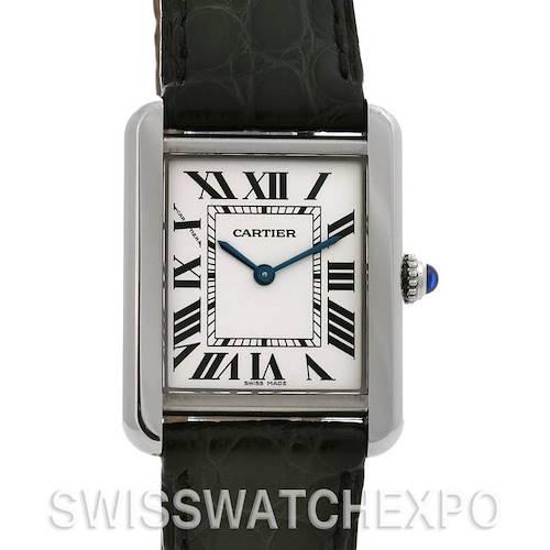 Photo of Cartier Tank Solo Ladies Steel Watch W5200005