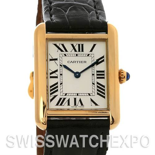 Photo of Cartier Tank Solo Ladies Ss/18k Yellow Gold W1018755