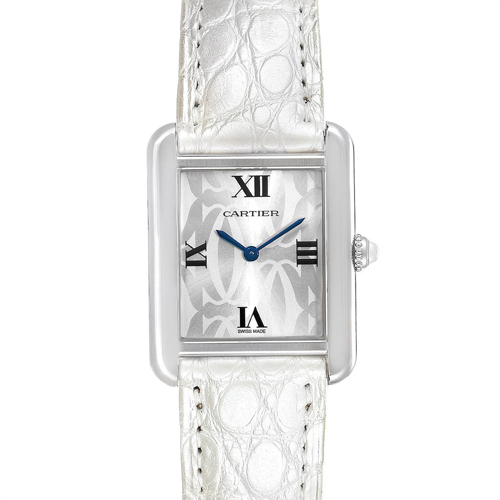 Cartier Tank Solo Limited Eddition Ladies Steel Watch W1019555