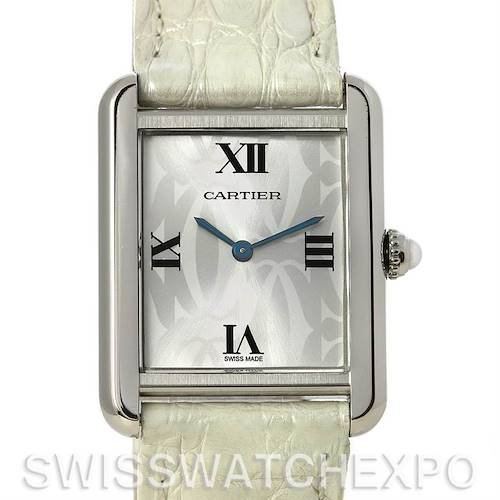 Photo of Cartier Tank Solo Ladies Steel Watch Limited Edition W1019555