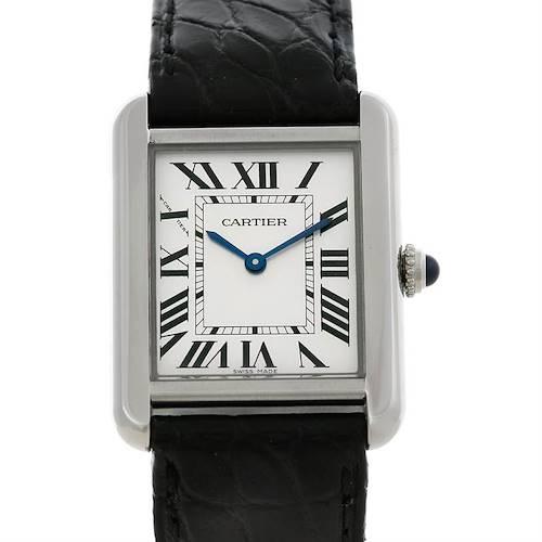 Photo of Cartier Tank Solo Ladies Steel Watch W1018255
