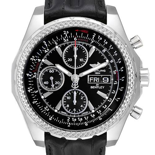 Breitling Bentley Motors GT Special Edition Mens Watch A13362 Box Card