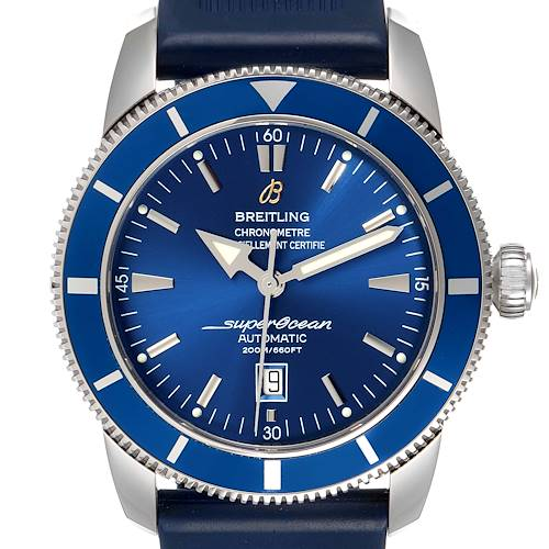 Photo of Breitling Superocean Heritage 46 Blue Dial Steel Mens Watch A17320