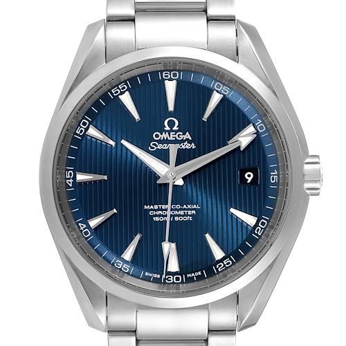Photo of Omega Seamaster Aqua Terra Mens Steel Watch 231.10.42.21.03.001 Box Card