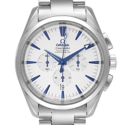 Photo of Omega Seamaster Aqua Terra XL Chronograph Watch 2512.30.00 Box Card