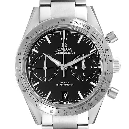 Photo of Omega Speedmaster 57 Co-Axial Chronograph Watch 331.10.42.51.01.001 Box Card
