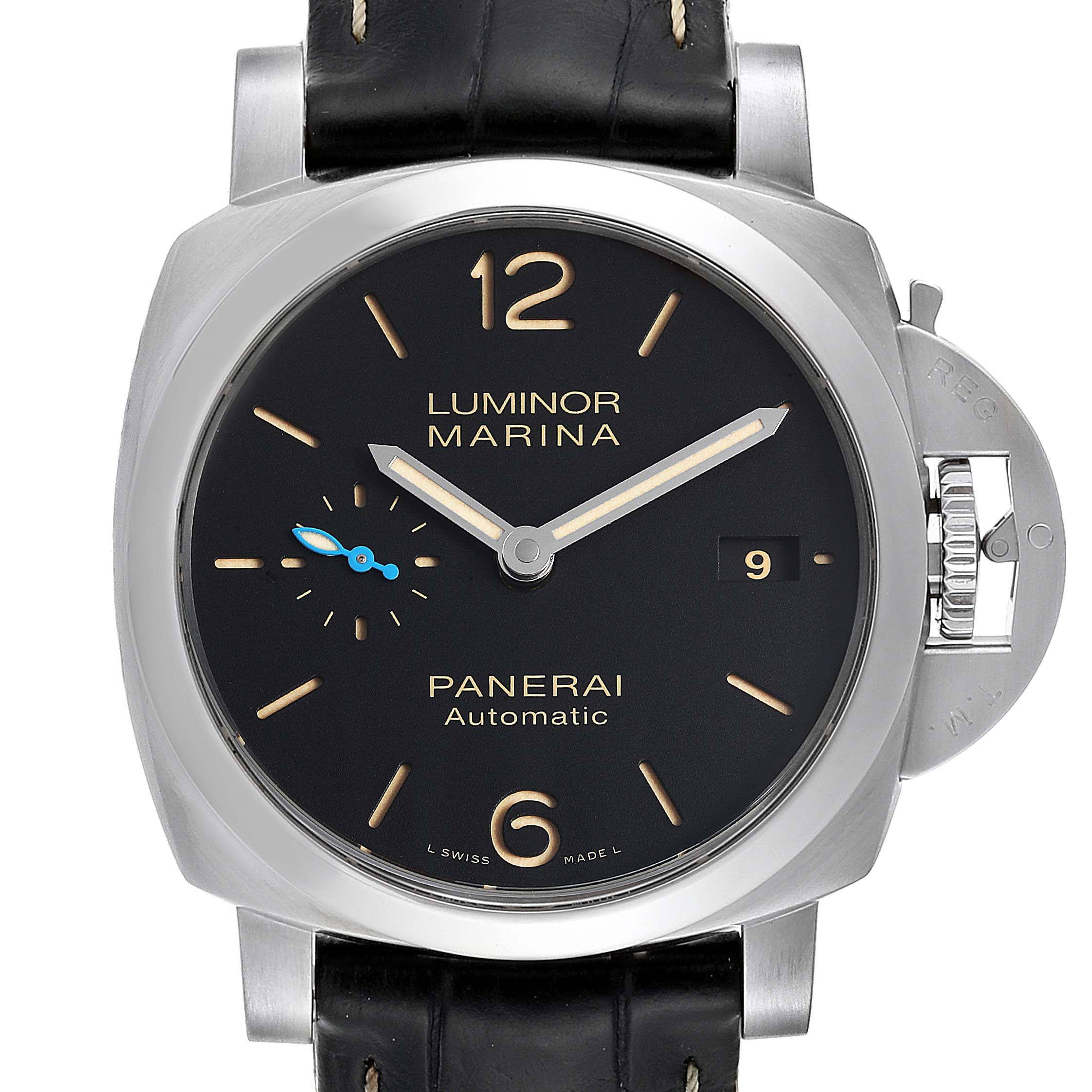 Panerai Luminor Marina 1950 44mm Mens Watch PAM01392 Box Papers SwissWatchExpo