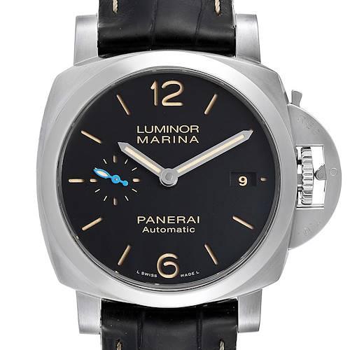Photo of Panerai Luminor Marina 1950 44mm Mens Watch PAM01392 Box Papers