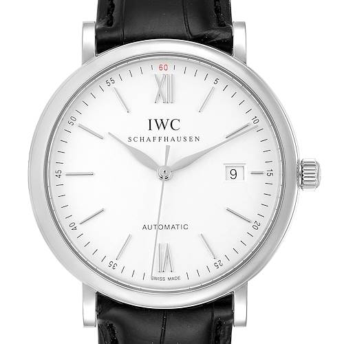 Photo of IWC Portofino Silver Dial Automatic Steel Mens Watch IW356501