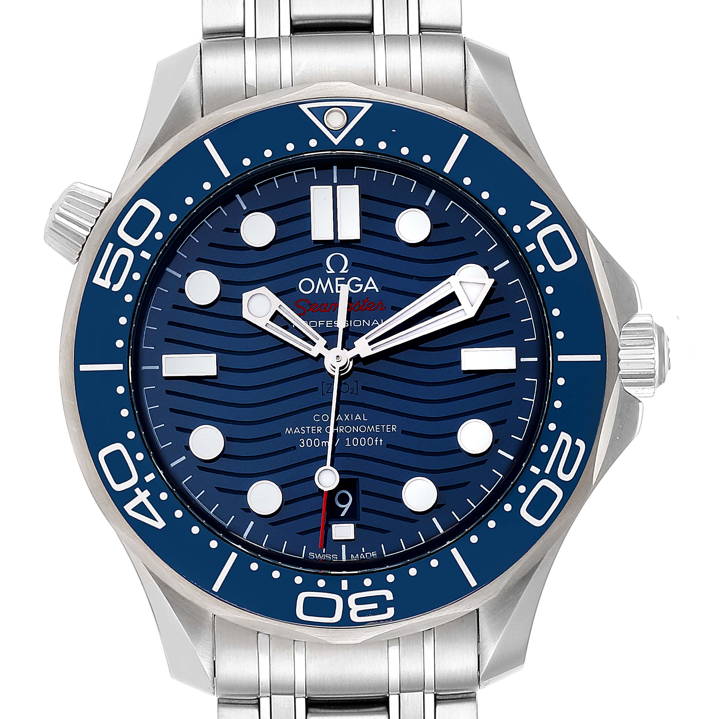 Omega Seamaster Co-Axial 42mm Mens Watch 210.30.42.20.03.001 Box Card