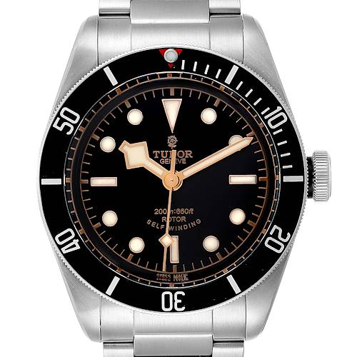 Photo of Tudor Heritage Black Bay Automatic Steel Mens Watch 79220