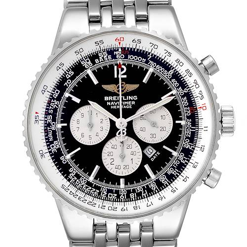 Photo of Breitling Navitimer Heritage Black Dial Automatic Mens Watch A35340