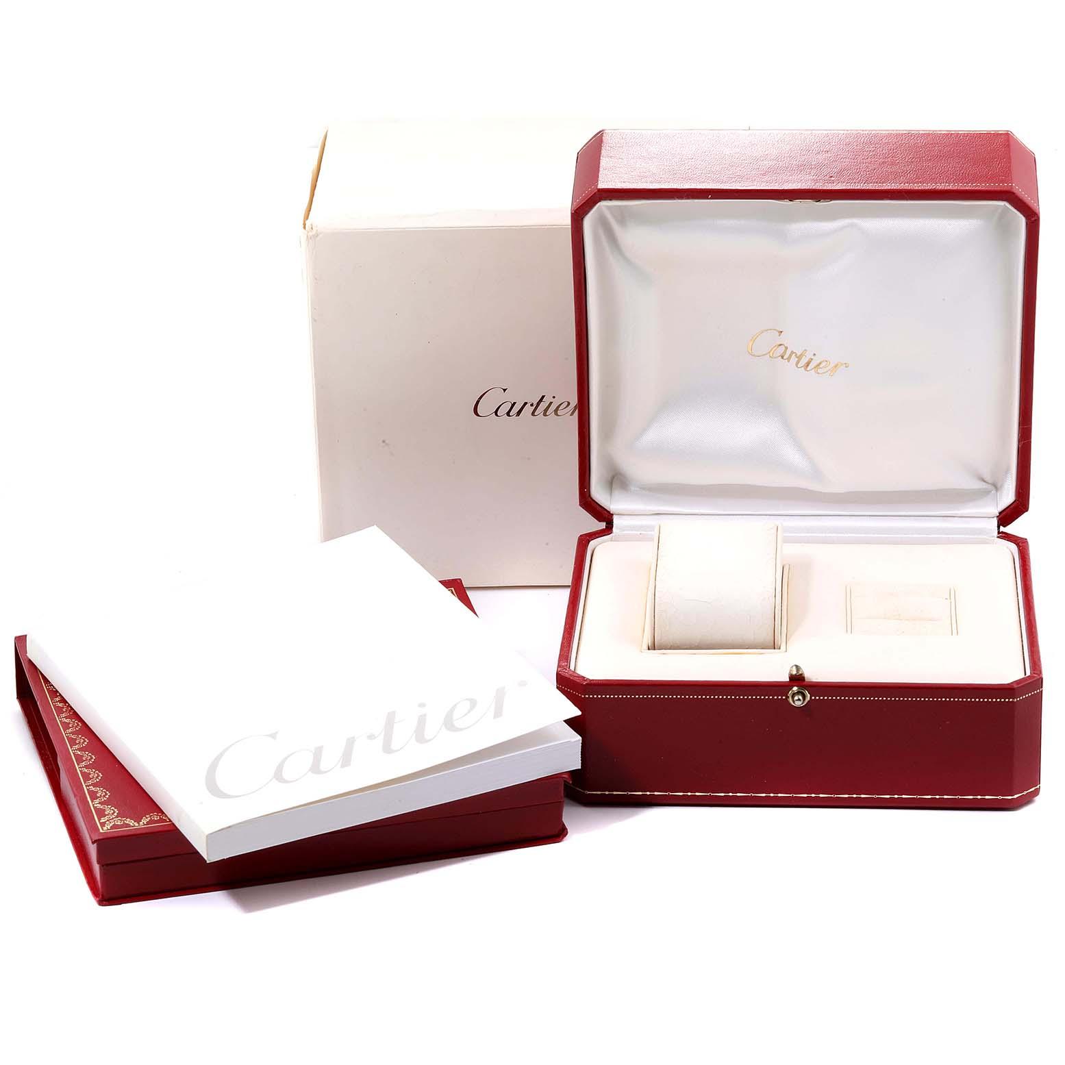 Cartier Pasha C Midsize Black Dial Automatic Ladies Watch W31053M7 SwissWatchExpo
