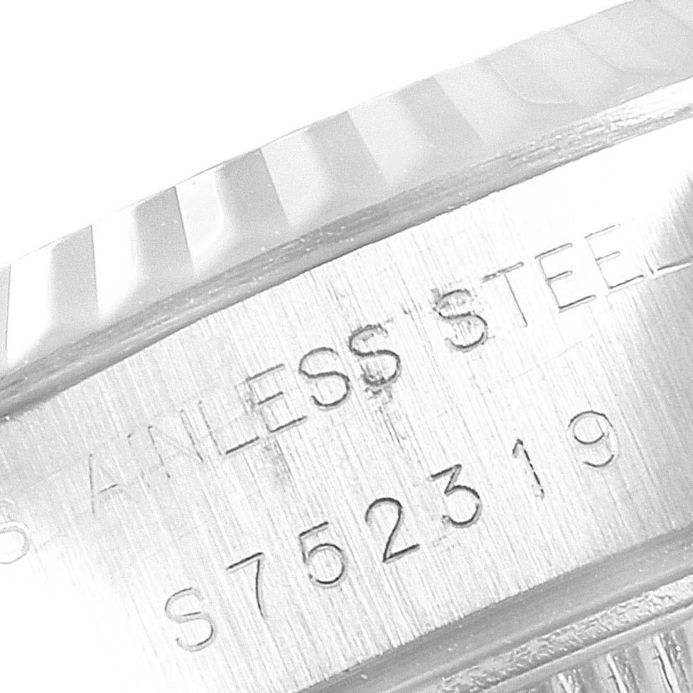 Rolex Datejust 26 Steel White Gold Roman Dial Ladies Watch 69174 SwissWatchExpo